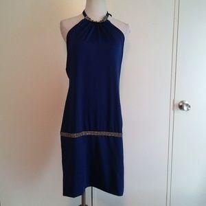 Royal blue venus dress size small